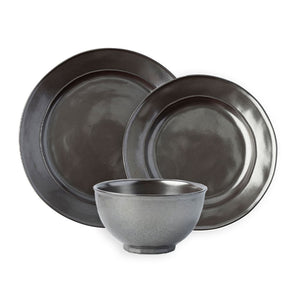 Pewter Stoneware 3pc Bundle