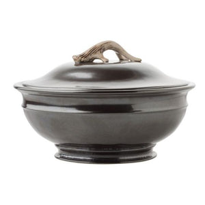 Forest Pewter Soup Tureen
