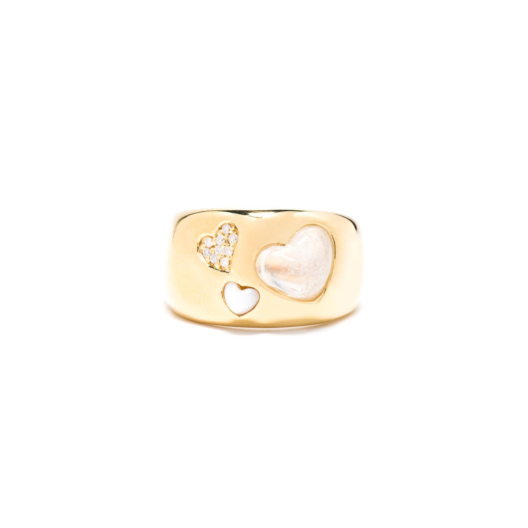 Love! Ring Gold, Size 8