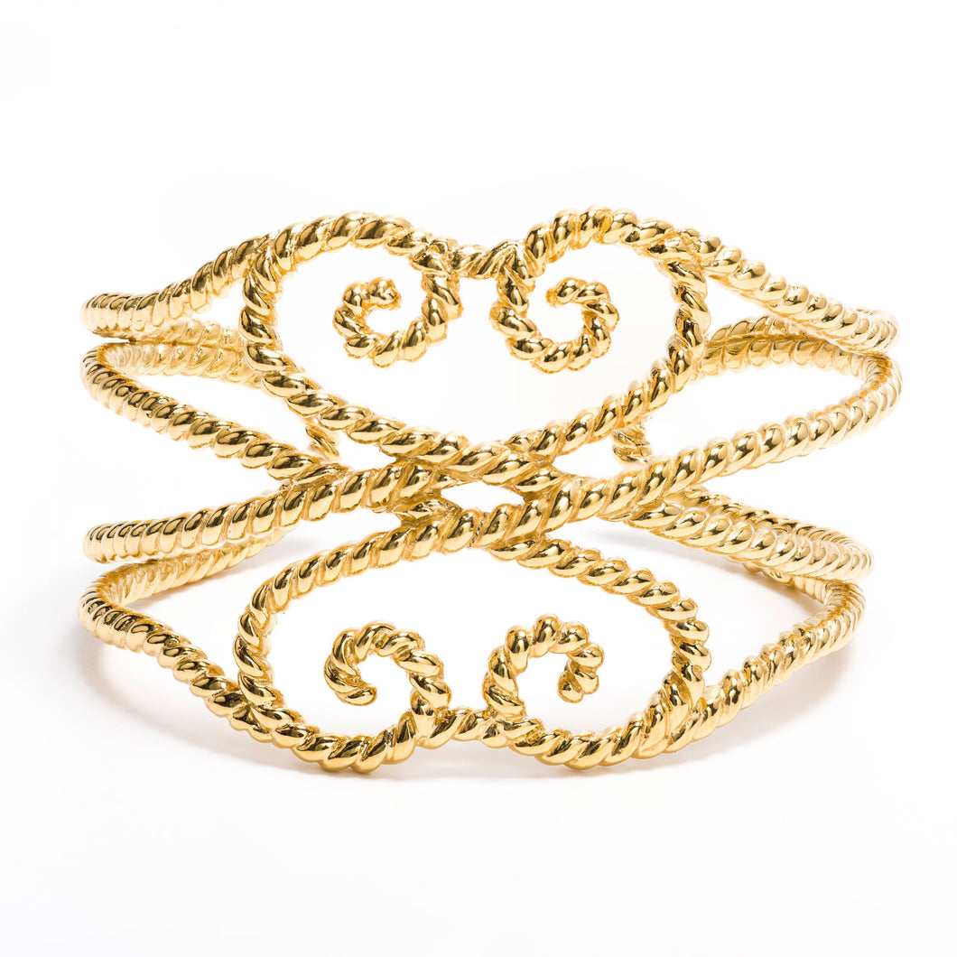 Kameron Cuff in Gold