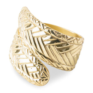 Le Panier Gold Napkin Ring Set (4)