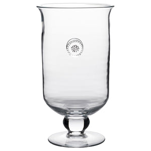 "Berry & Thread 11"" Glass Hurricane"
