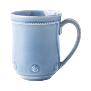 Berry & Thread Chambray Mug Set (4)