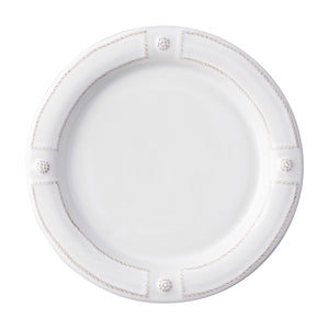 Berry and Thread French Panel Whitewash Dinner Plate Set (4)