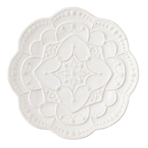 Jardins du Monde Whitewash Charger Set (4)