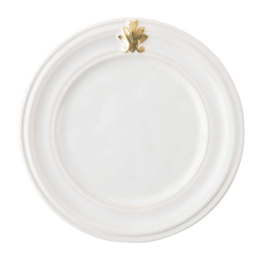Acanthus Gold Side/Cocktail Plate Set (4)
