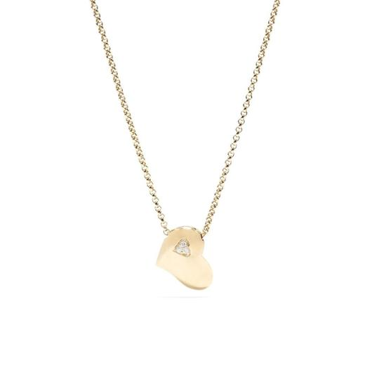 Love! Charm Necklace in Gold w/Diamonds