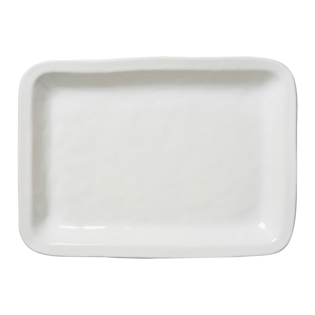 Puro Whitewash Rectangular Large Tray/Platter