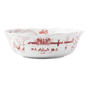 "Country Estate Winter Frolic 10"" Serving Bowl"