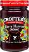 Crofters Premium Spread Berry Hrvst Og 16.5oz