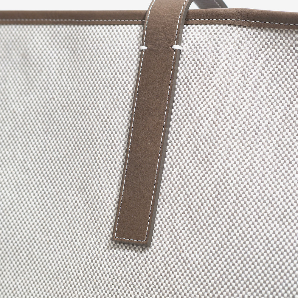 LINES large tote taupe