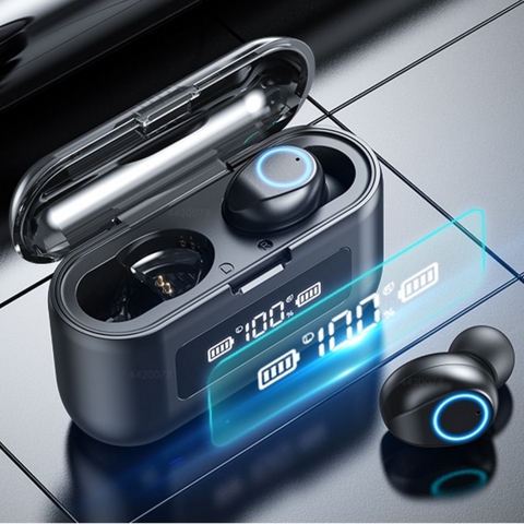 Image of earbuds bluetooth
