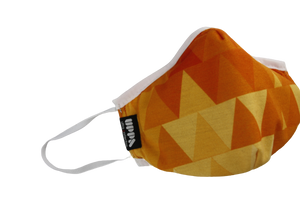 Yellow And Orange Maske