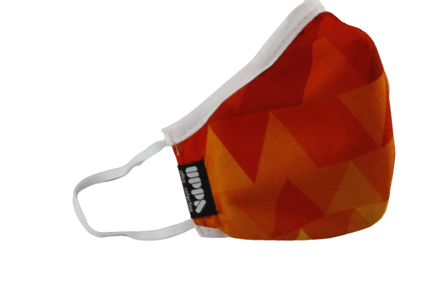 Red And Orange Maske