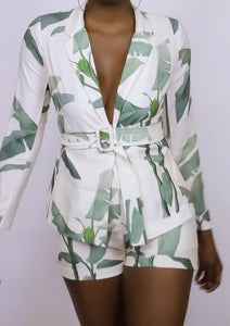 Cream Palm Leaf | Set