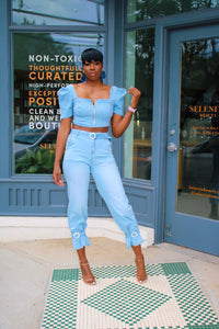 Destiny Denim | Crop Top