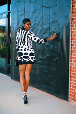 Load image into Gallery viewer, Zebra Print | Mini Dress