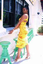 Load image into Gallery viewer, Yellow Tulum Knitted Sundress