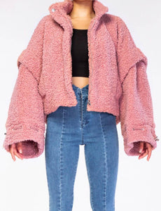 Furry Love Teddy | Jacket