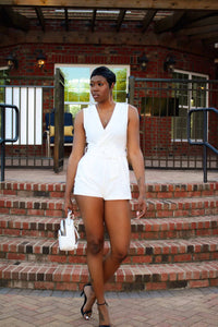 Its All White | Romper