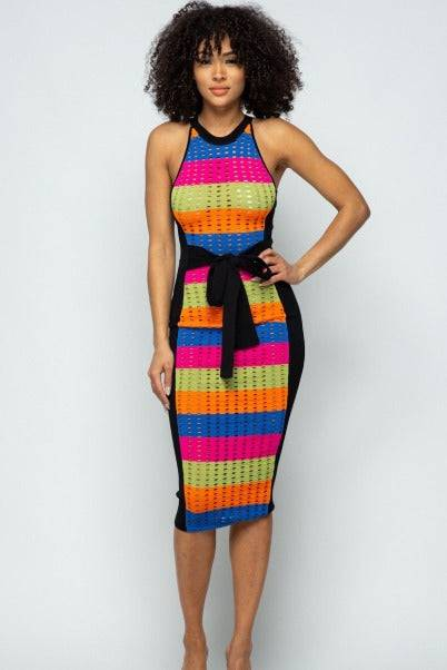 Kai Tie Midi Dress