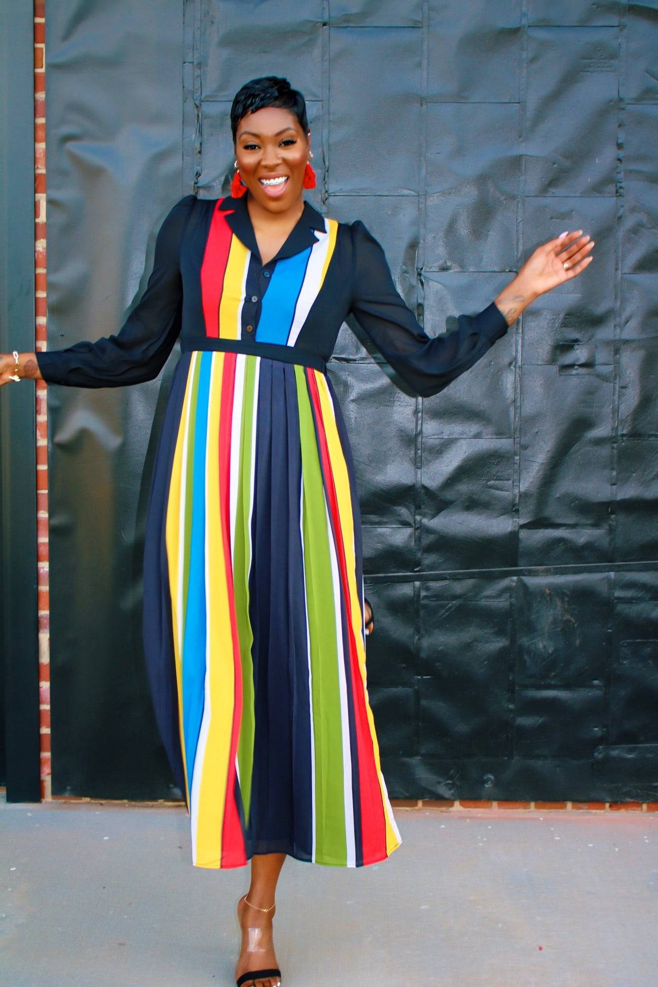 Shear Me Multi Color | Maxi Dress