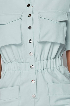 Misty Mint Jumpsuit