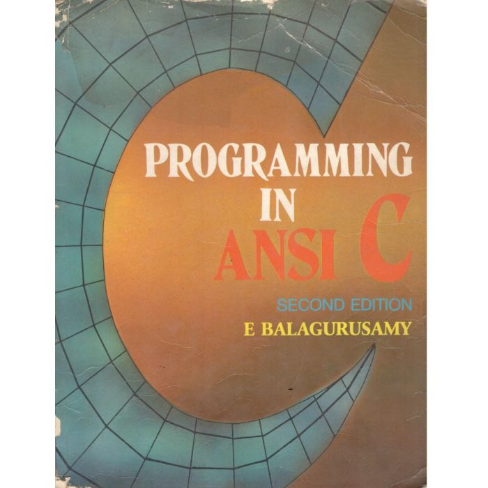 Programming in ANSI C - BooksKart