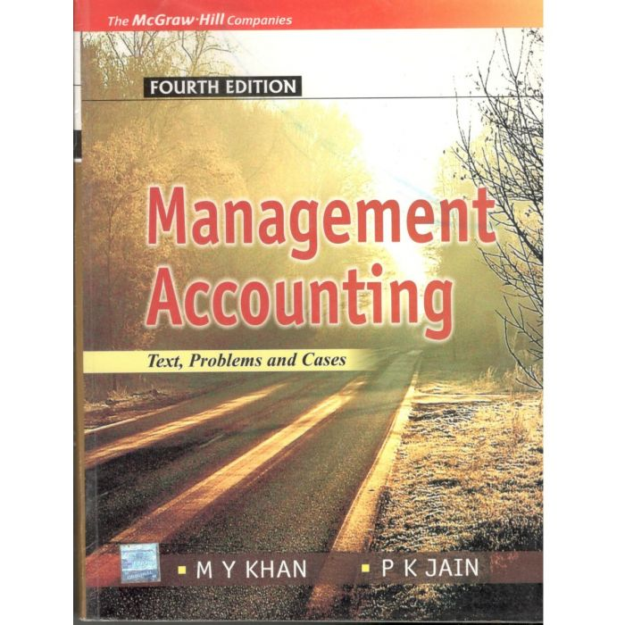 Managing Accounting by M.Y. Khan - BooksKart