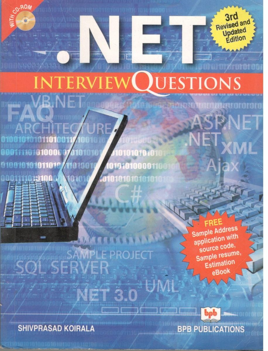 .Net Interview Questions 7th Revised and Updated Edition (English, Paperback, Shivprasad Koirala) - BooksKart