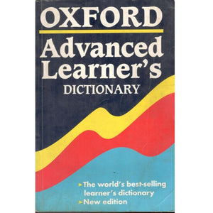 Oxfords Advanced Learner Dictionary - BooksKart