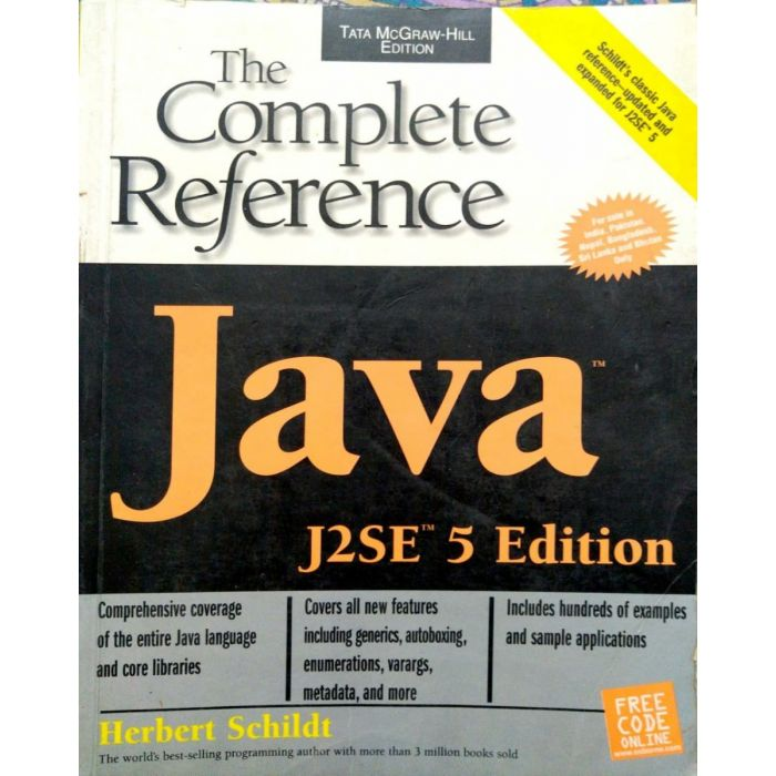 The Complete Reference Java J2SE 5th Edition McGraw Hill - BooksKart