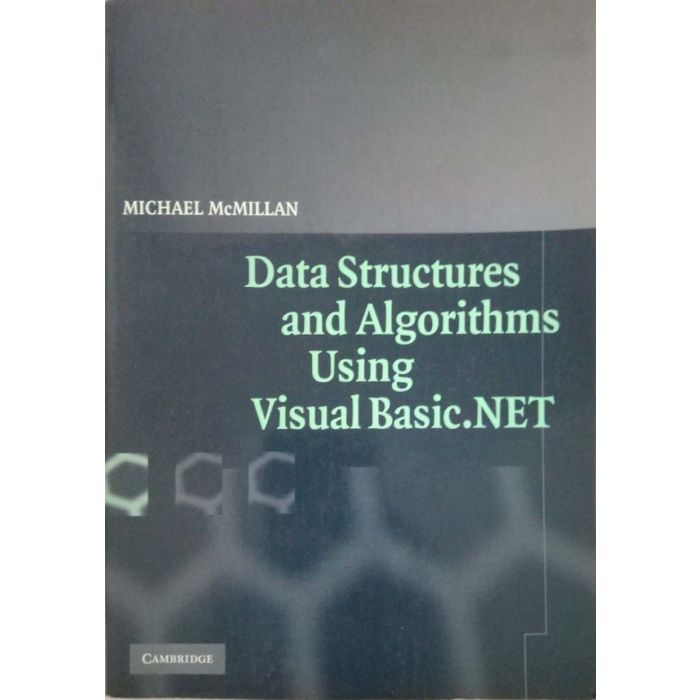 Cambridge Data Structure and Algorithms Using VB.NET - BooksKart