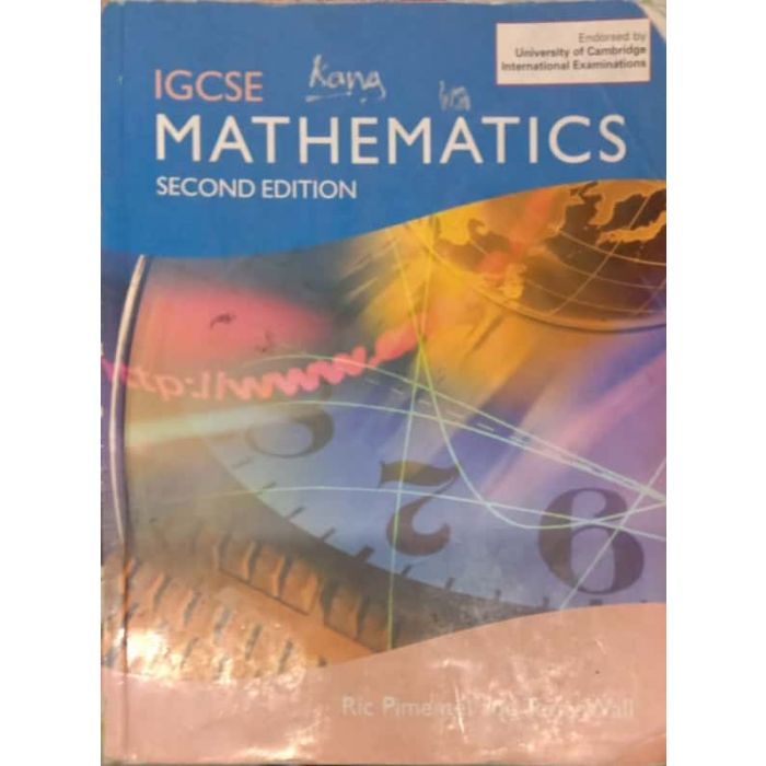 IGCSE Mathematics Second Edition (2nd) (English, Paperback, Wall Terry) - BooksKart