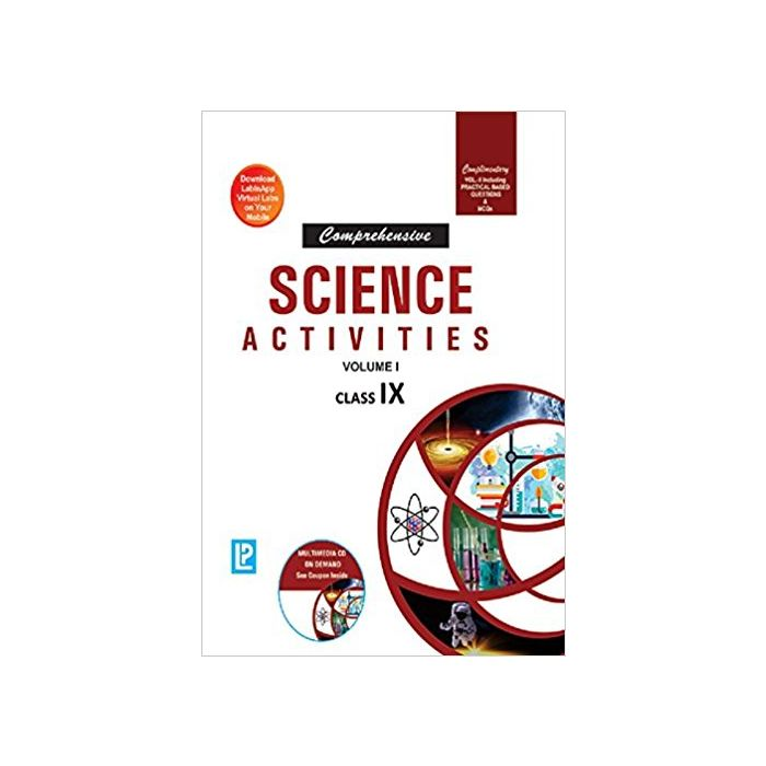 Comprehensive Science Activities Vol.I & II IX - BooksKart