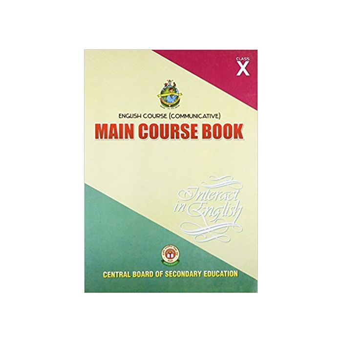 English Course Communicative: Main Course Book Interact in English - Class 10 - BooksKart
