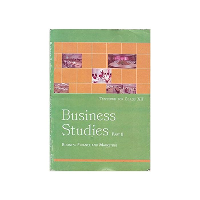 Business Studies Part - II Business Finance and Marketing for Class - 12 - BooksKart