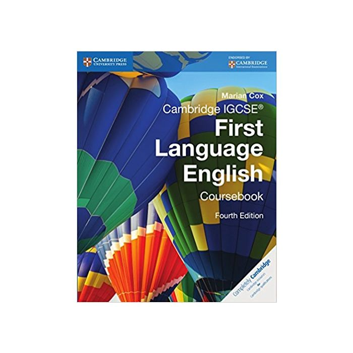 Cambridge IGCSE® First Language English Coursebook (Cambridge International IGCSE) - BooksKart
