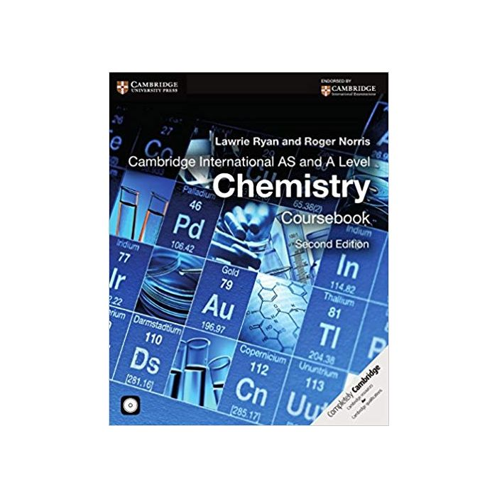 Cambridge International AS and A Level Chemistry Coursebook with CD-ROM (Cambridge International Examinations) Paperback - BooksKart