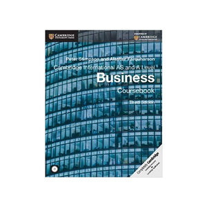 Cambridge International AS and A Level Business Coursebook with CD-ROM (Cambridge International Examinations) - BooksKart
