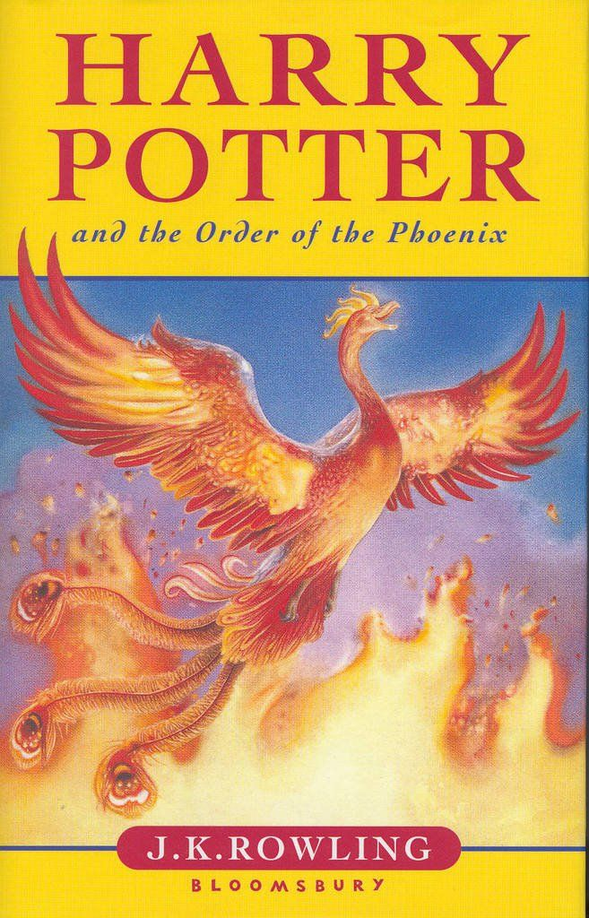 Harry Potter and the Order of the Phoenix Children's Hardcover Paperback - BooksKart