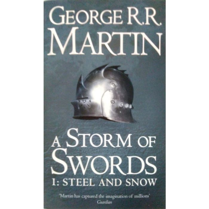 A Storm of Swords: Part 1 Steel and Snow (English, Paperback, Martin George R. R.) - BooksKart