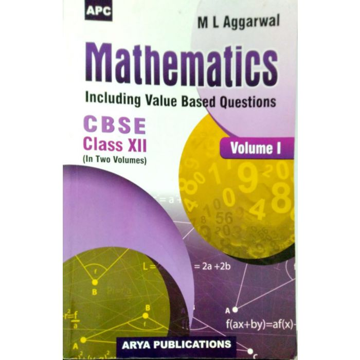 Mathematics By ML Agarwal Including Value Based Questions - BooksKart