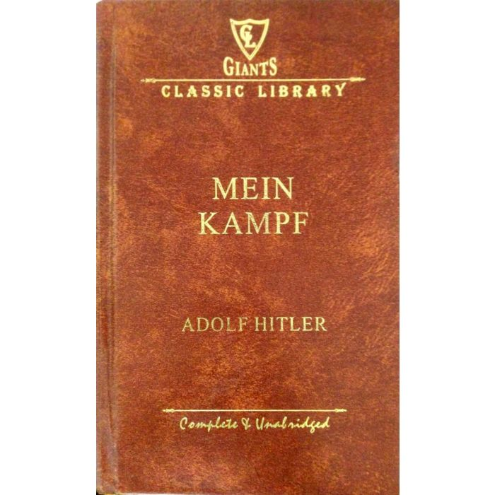 Mein Kampf - Giants Classical Library Edition - BooksKart
