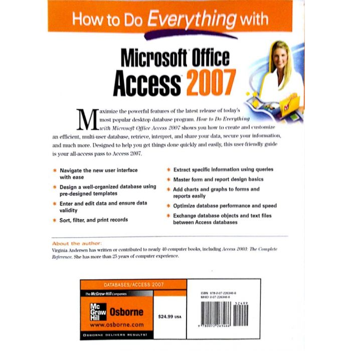 How to do everything with Microsoft Office Access 2007 - BooksKart