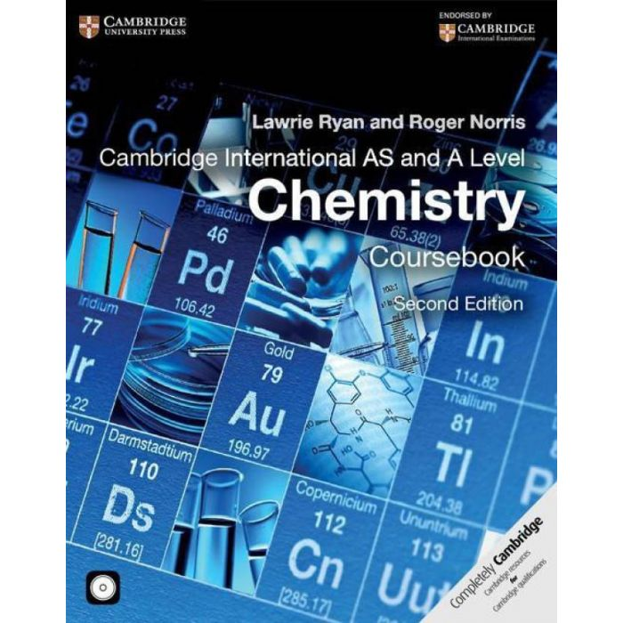 Cambridge International AS and A Level Chemistry Coursebook (English, Paperback, Roger Norris, Lawrie Ryan, Mike Wooster) - BooksKart