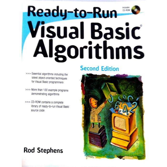 Ready-to-Run Visual Basic Algorithms with CD-ROM - BooksKart