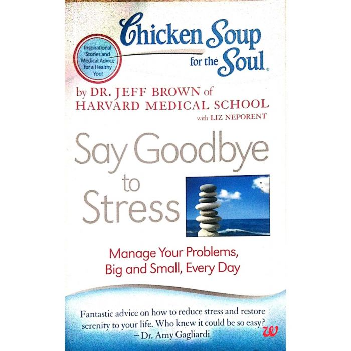 Chicken Soup for the Soul: Say Goodbye to Stress: Manage Your Problems, Big and Small, Every Day Paperback - BooksKart