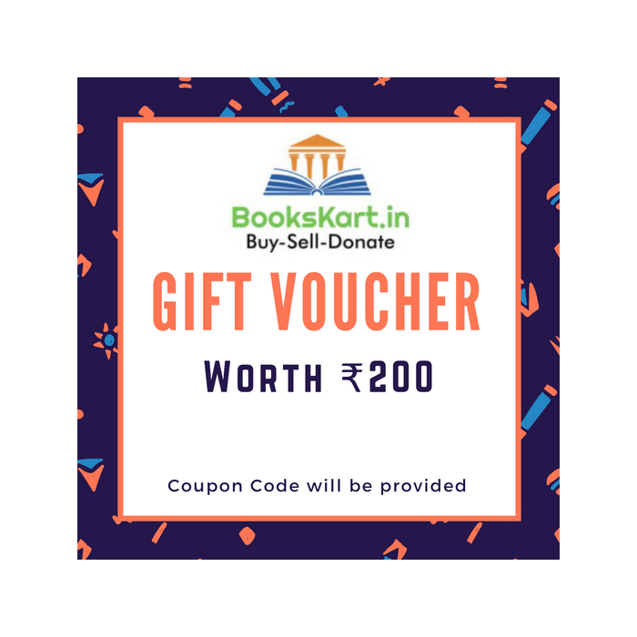 Bookskart Gift Voucher Worth Rs. 200 - BooksKart