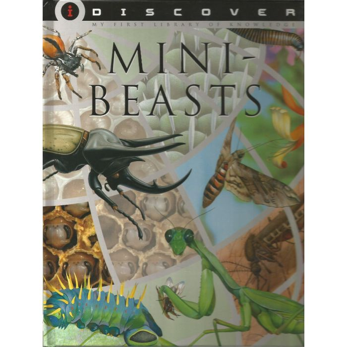 Discover Mini Beasts - Insects, Small Creature, Microorganisms Explained - BooksKart